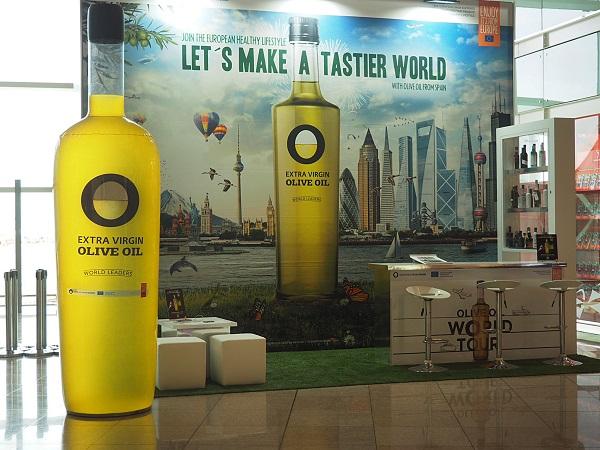 Olive Oil Lounge en el aeropuerto de Barcelona