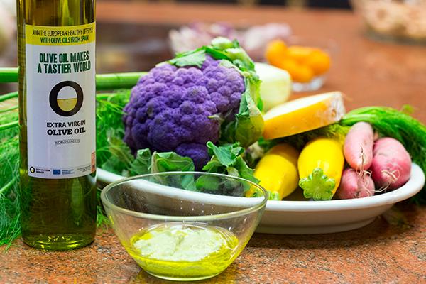 Vinagreta de limón y mostaza