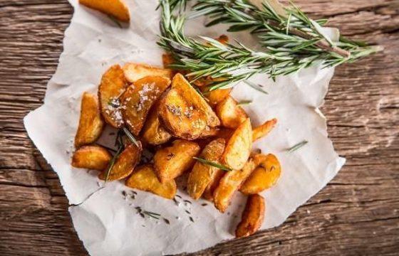 Patatas asadas al romero