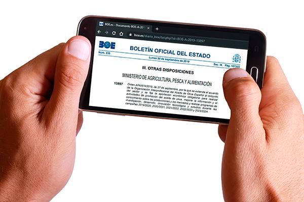 Información práctica sobre la nueva Extensión de Norma de la Organización Interprofesional del Aceite de Oliva Español
