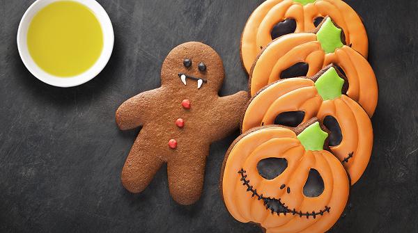 Galletas divertidas de Halloween