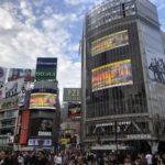 La campaña Olive Oil World Tour se despliega en el cruce de peatones más transitado del mundo, el de Shibuya, en el centro de Tokyo