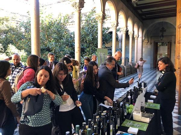 Degustación de aceites de oliva virgen extra de las Denominaciones de Origen de España