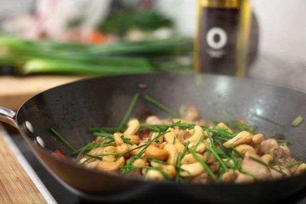 Como preparar Pollo Kung Pao