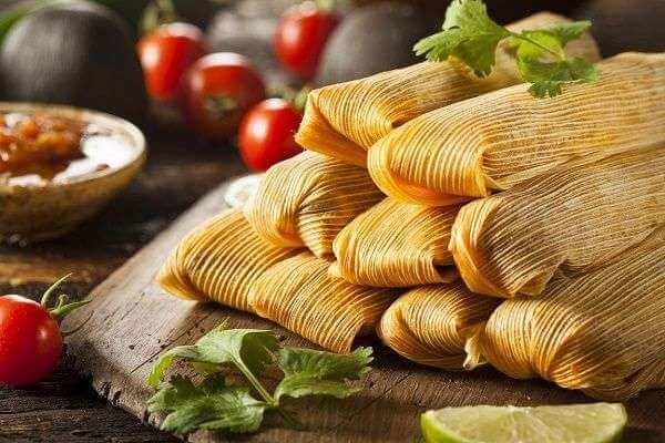 Tamales con Aceite de Oliva