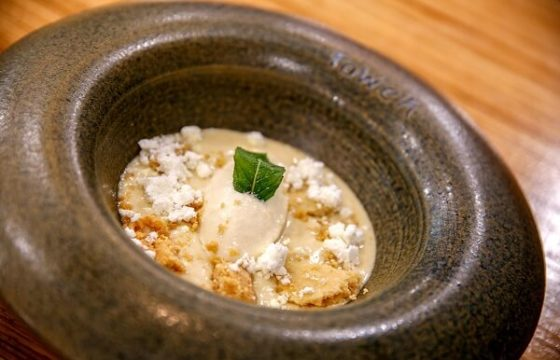Yogur emulsionado con AOVE y su helado