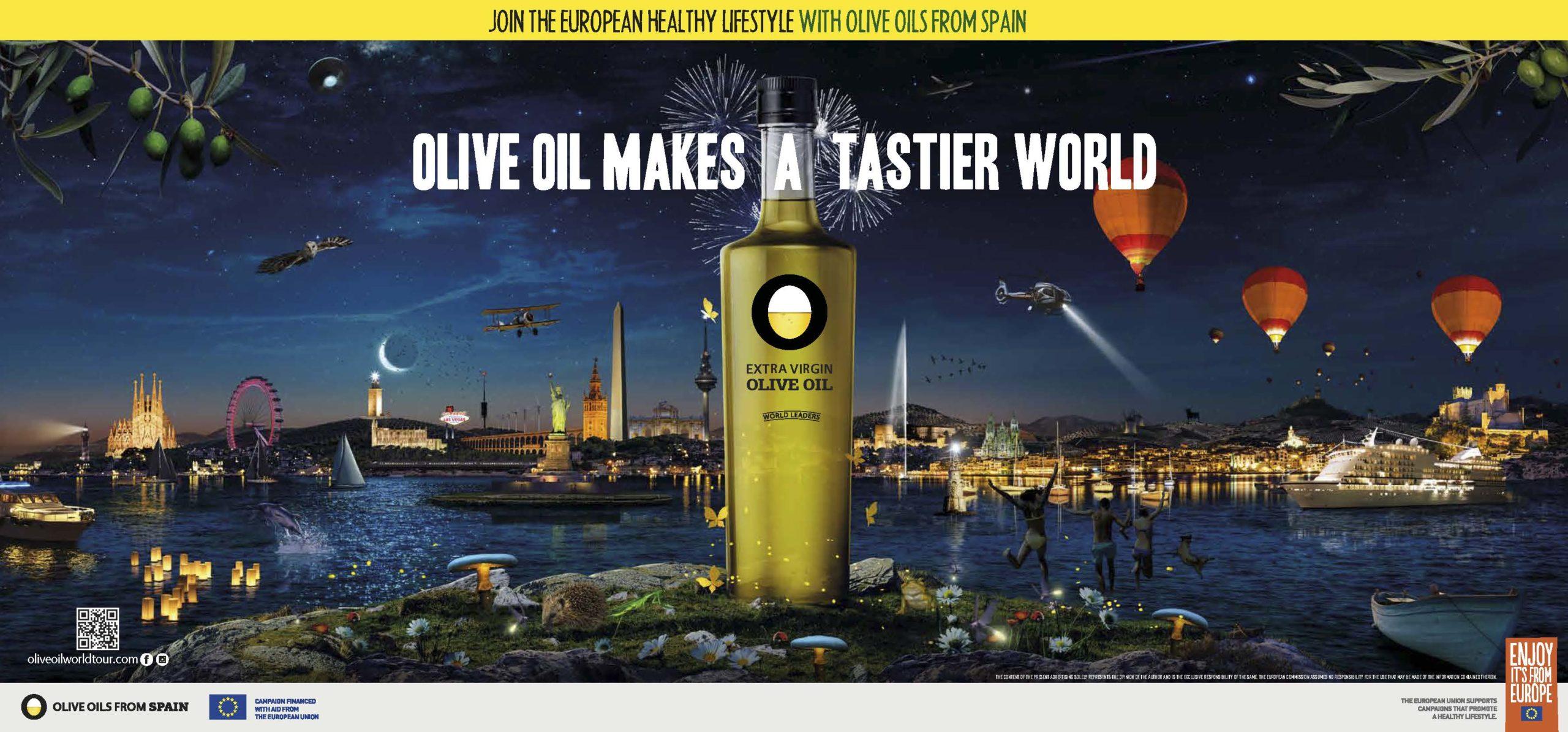 La campaña Olive Oil World Tour culmina con éxito