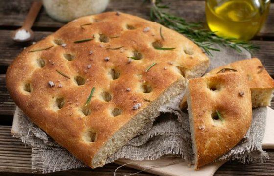 Pan casero de aceite de oliva