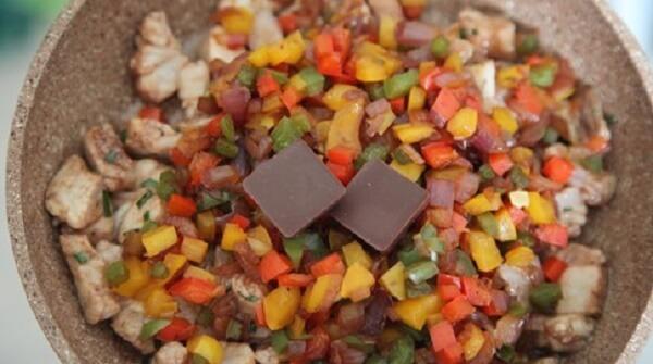 Receta de rodaballo al chocolate. Paso 5